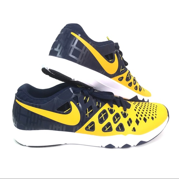 f4a56b0f8ce29 Nike Michigan Wolverines Training Shoes Sneakers. M 5b7865b2cdc7f704040b5f5c